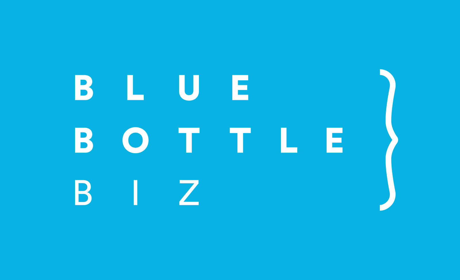 logo Blue Bottle Biz