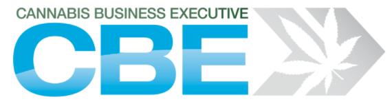 Cannabis Business Executive Logo