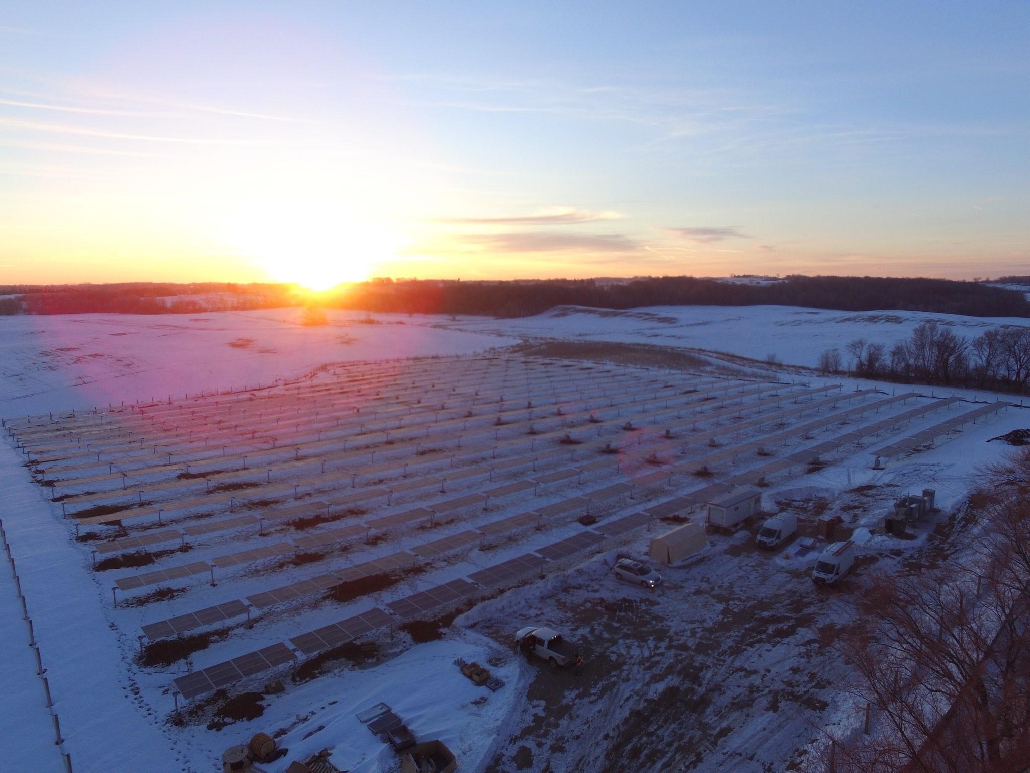Veseli Solar Farm
