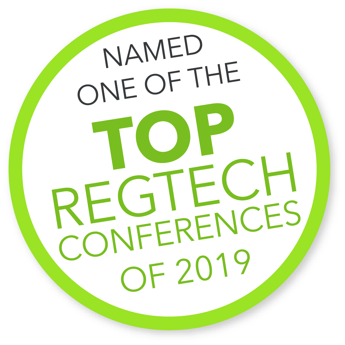 COMPLY2019 named top regtech conference 2019