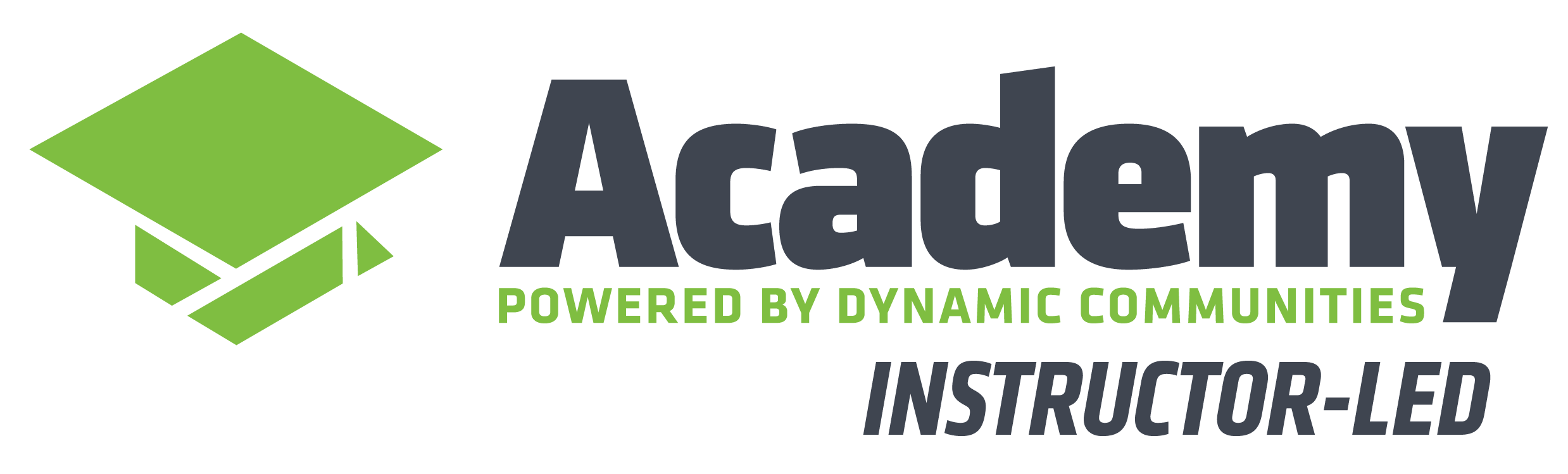 Instructor-Led Academy powered by Dynamic Communities logo
