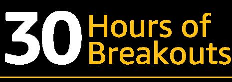 30 Hours of Breakouts