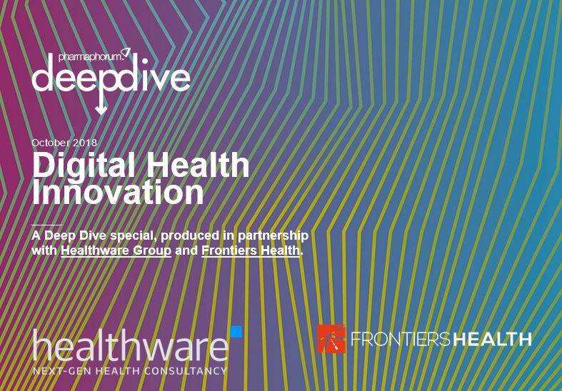 Deep Dive: Digital Health Innovation at Frontiers Health 2018