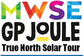 MWSE & GP Joule True North Solar Tour logo