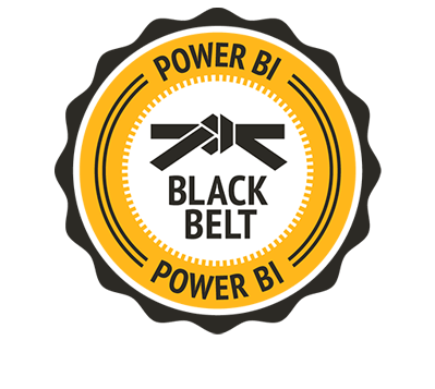 Power BI Black Belt Badge