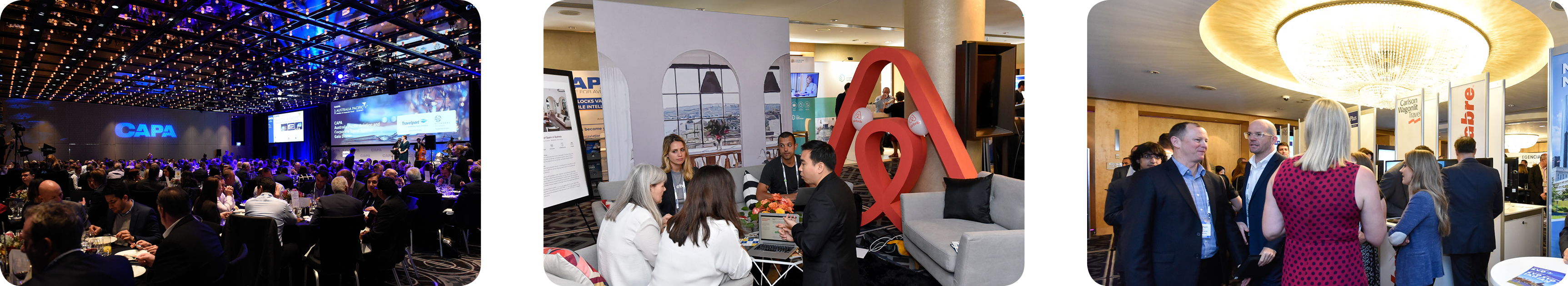 Networking Potential CAPAs Events Allow You The Opportunity To Interact And Engage With Hundreds Of C Level Executives Suppliers Buyers Offering
