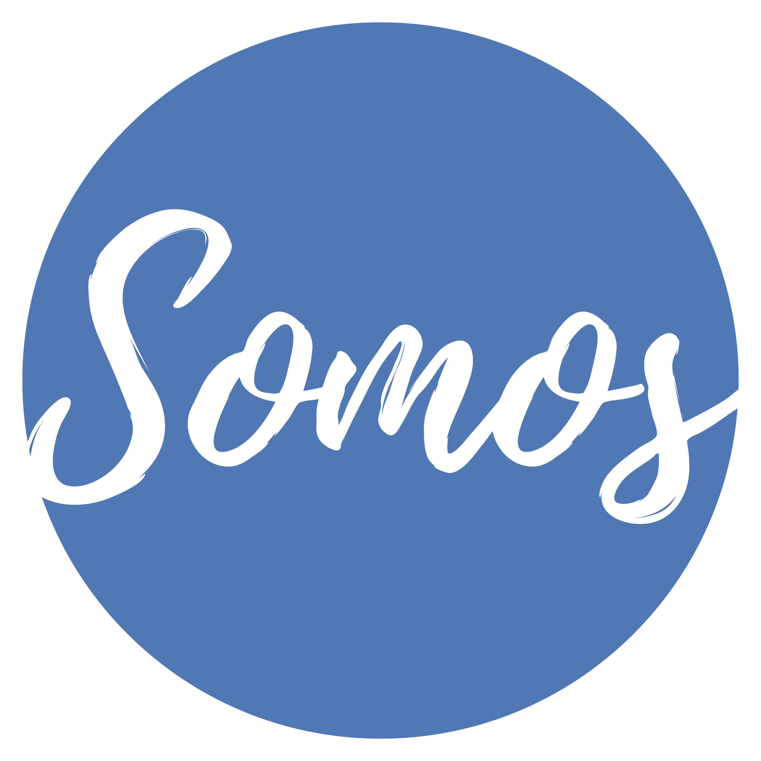 SOMOS Blue Circle Logo
