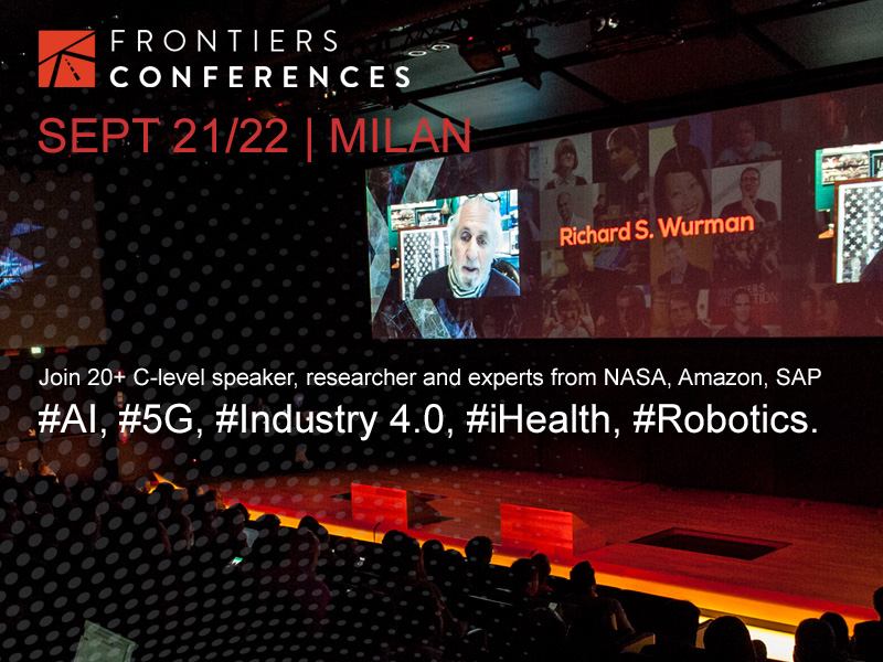 Frontiers Health 2017 starts in Milan: discover more!