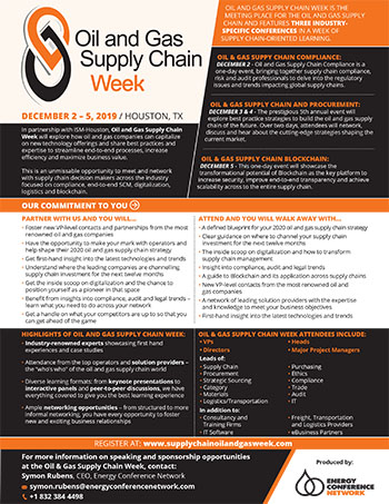 Home | Oil & Gas Supply Chain and Procurement Summit
