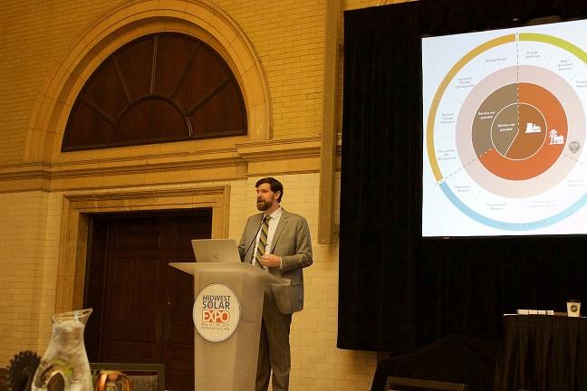 Keynote speaker Matt Roberts 2017