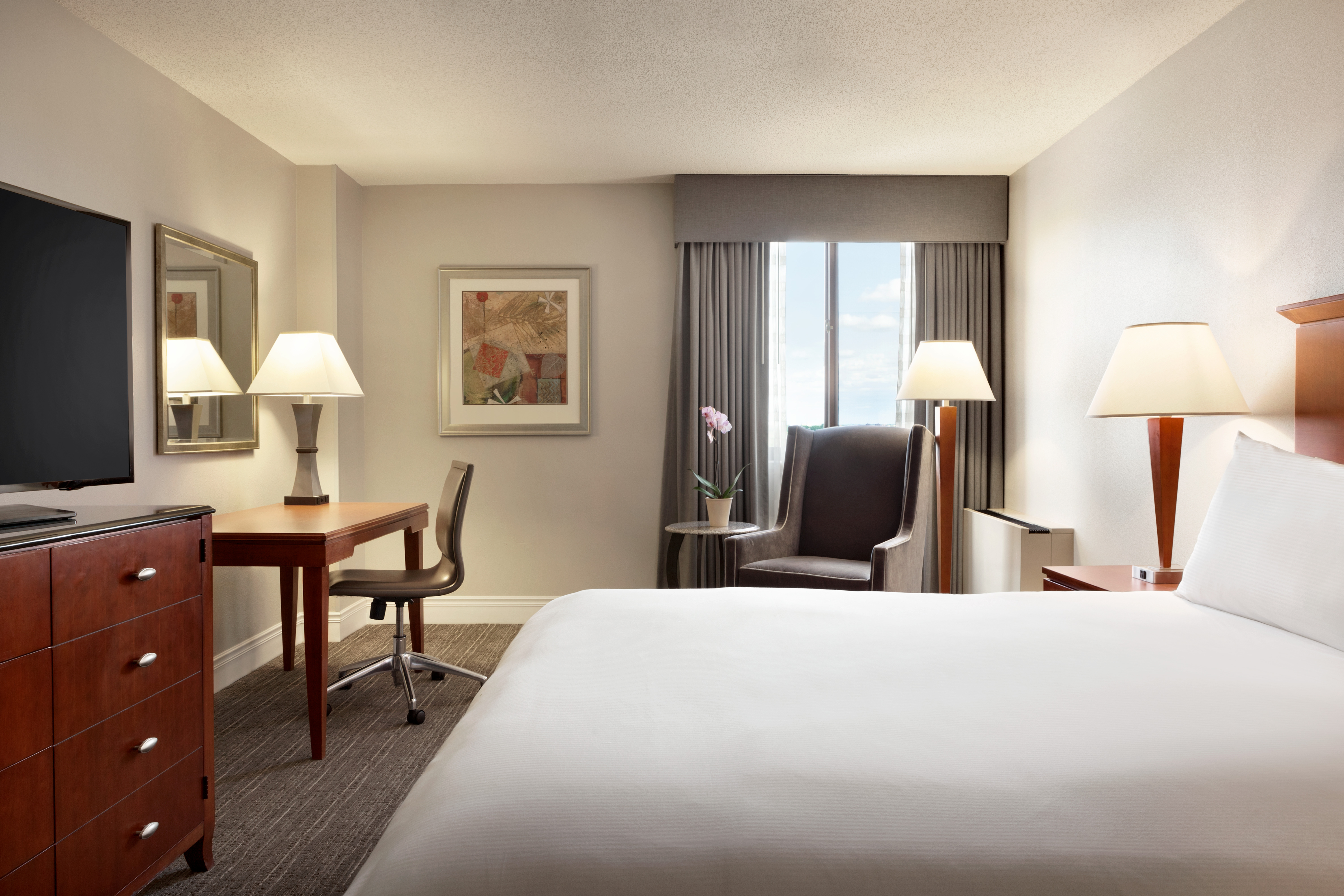 Bedroom at DoubleTree