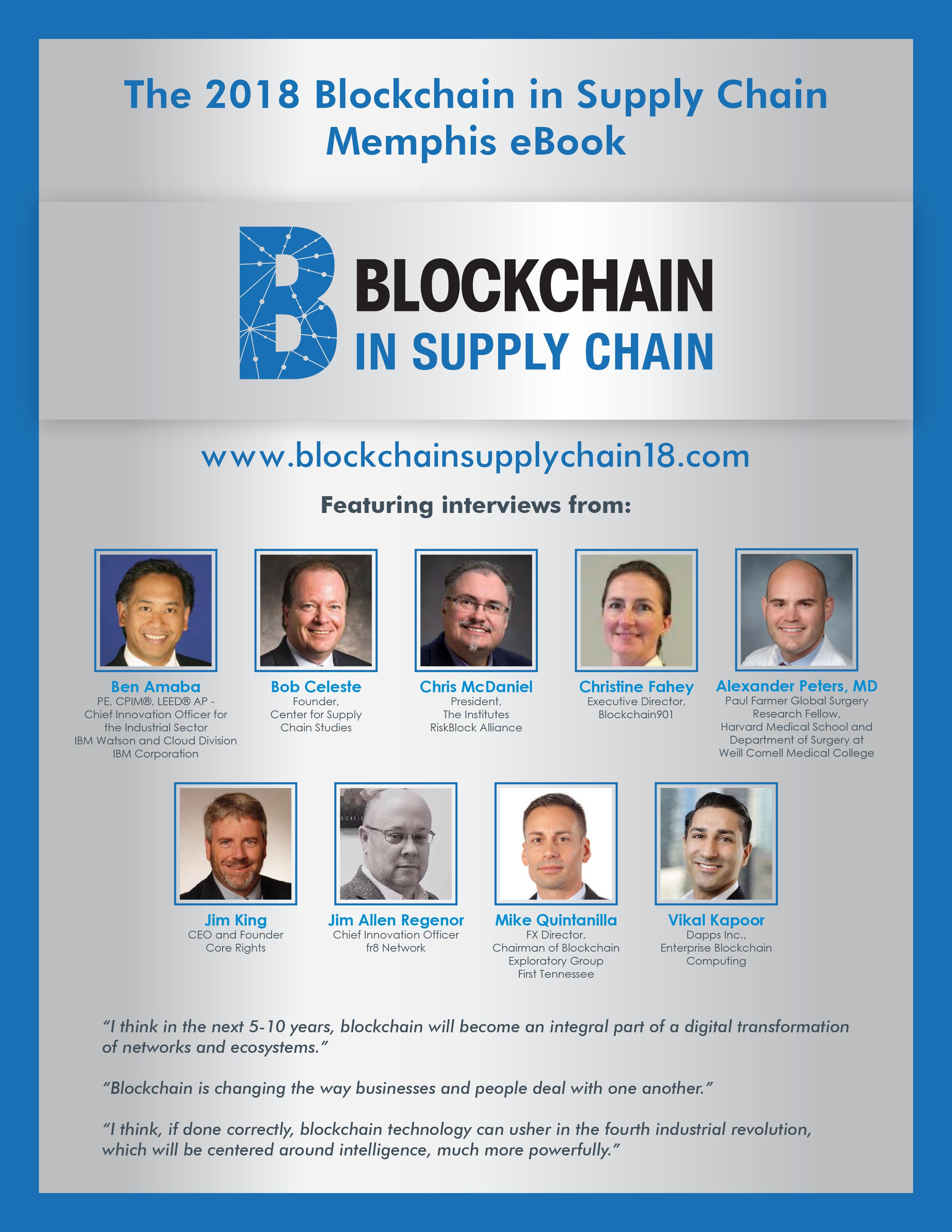 Downloadable eBook   Blockchain in Supply Chain Memphis