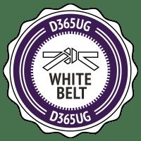 D365 White Belt Badge