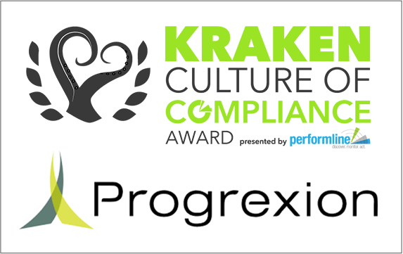 COMPLY2019 Kraken Award Culture winners Progrexion