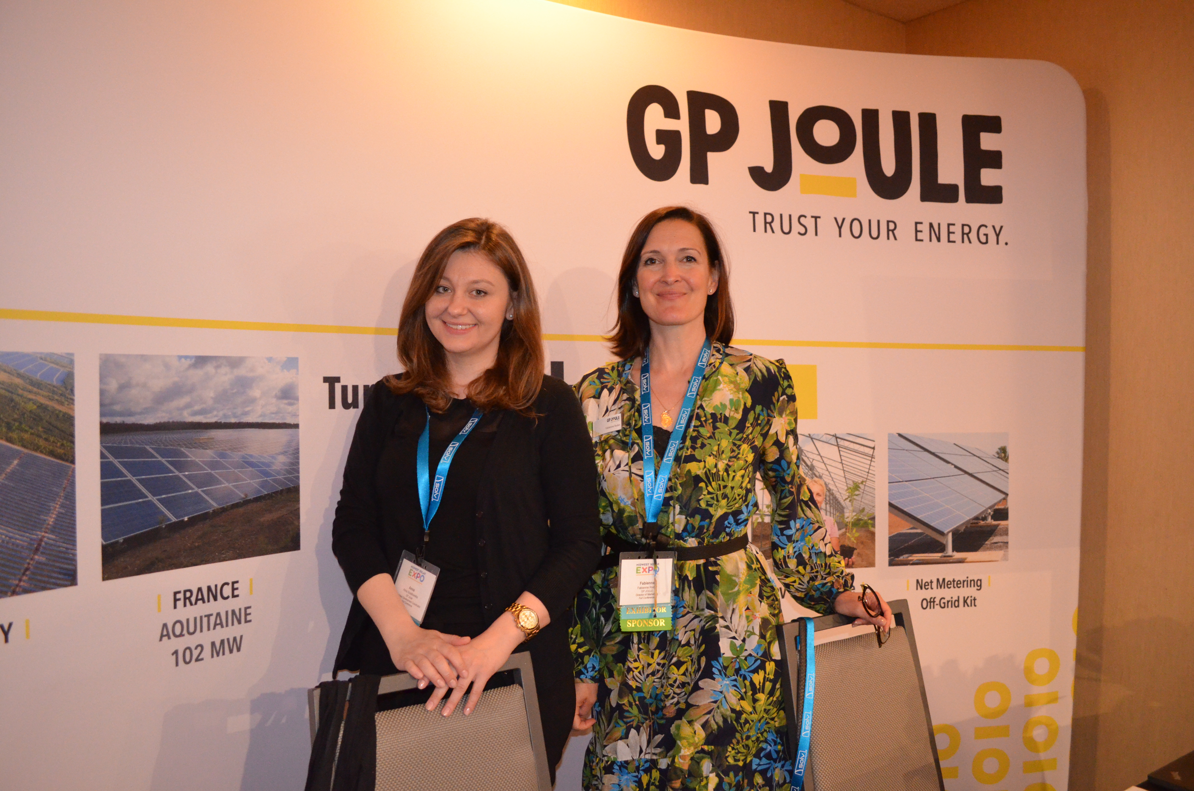 GP JOULE Booth 2018