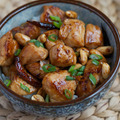 Kung pao chicken medium big square