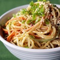 Cold sesame noodles medium big square