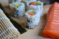 Intro to sushi making brainery listing