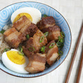 Japanese braised pork belly big square