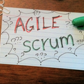 Agile methodology cover big square