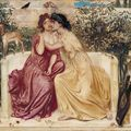 Sappho and erinna in a garden at mytilene big square