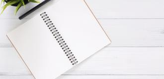 White blank notebook 733857 listing