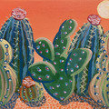 Cactus sip and paint photo big square