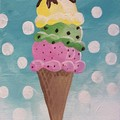 Ice cream sip and paint photo big square