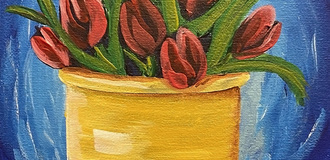 Tulip sip and paint photo listing