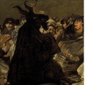 Francisco de goya y lucientes   witches' sabbath (the great he goat) crop big square