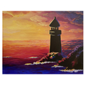 Lighthouse sip and paints big square