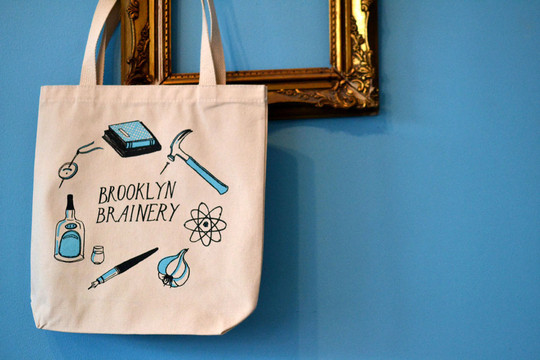 Brainery tote blog