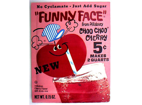 Funny face drink mix 1969 blog