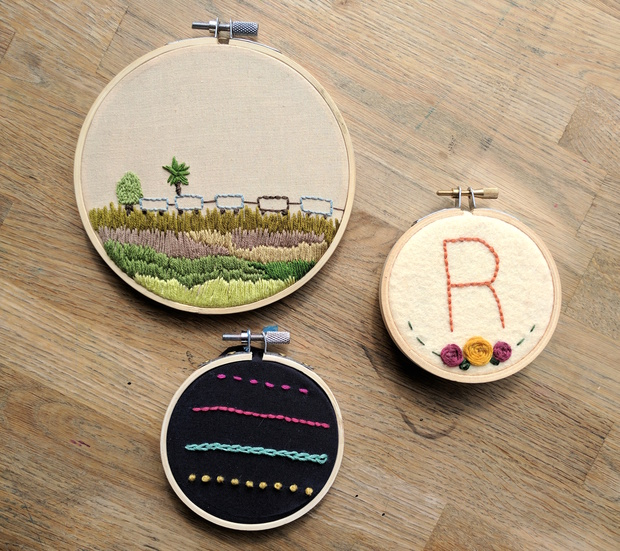 Embroidery hoops blog