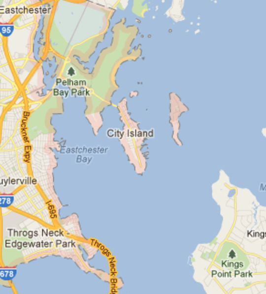 Map Of New York Islands.Know Your Confusing New York City Islands