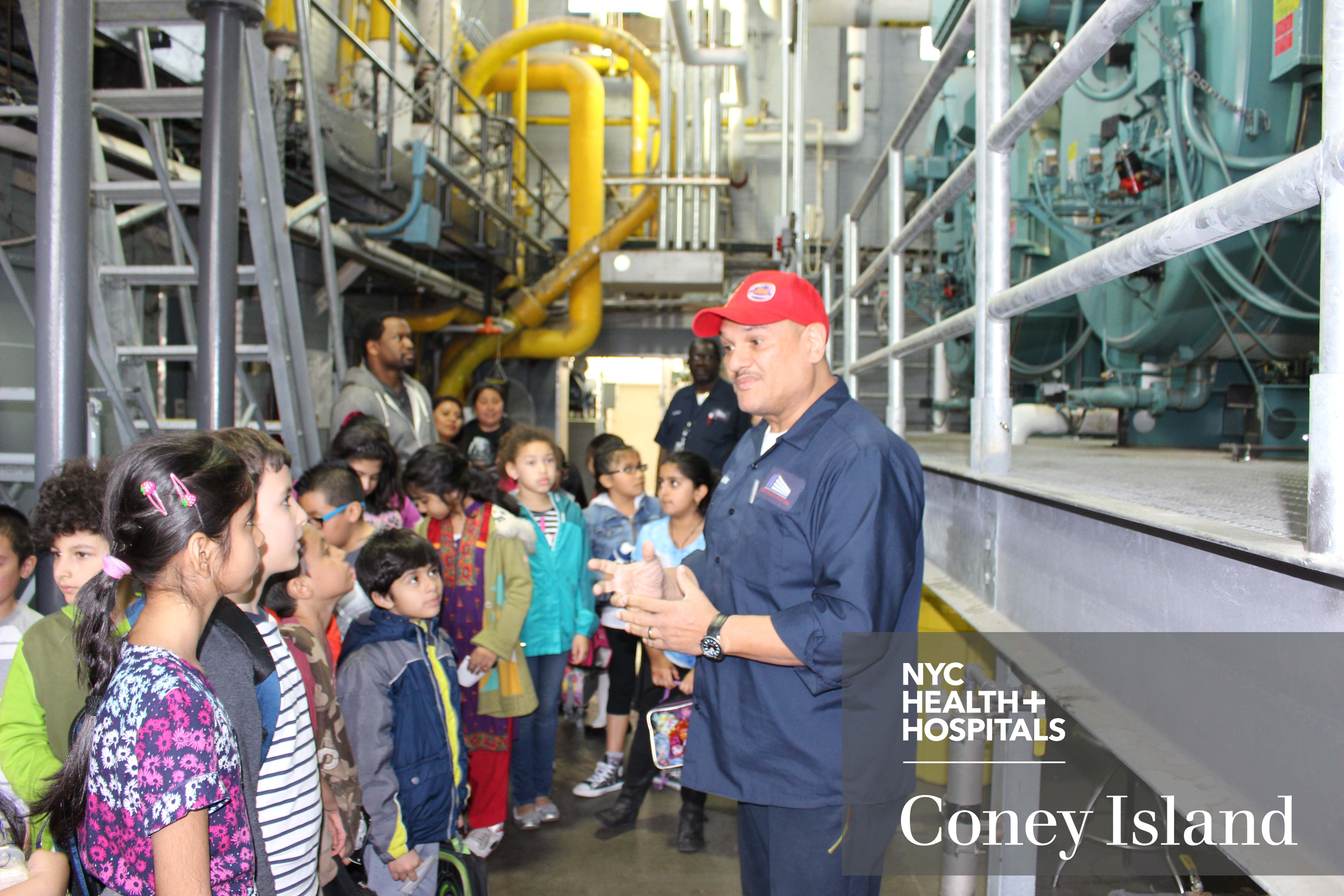 500 Elementary Students Visit Coney Island Hospital To Learn About