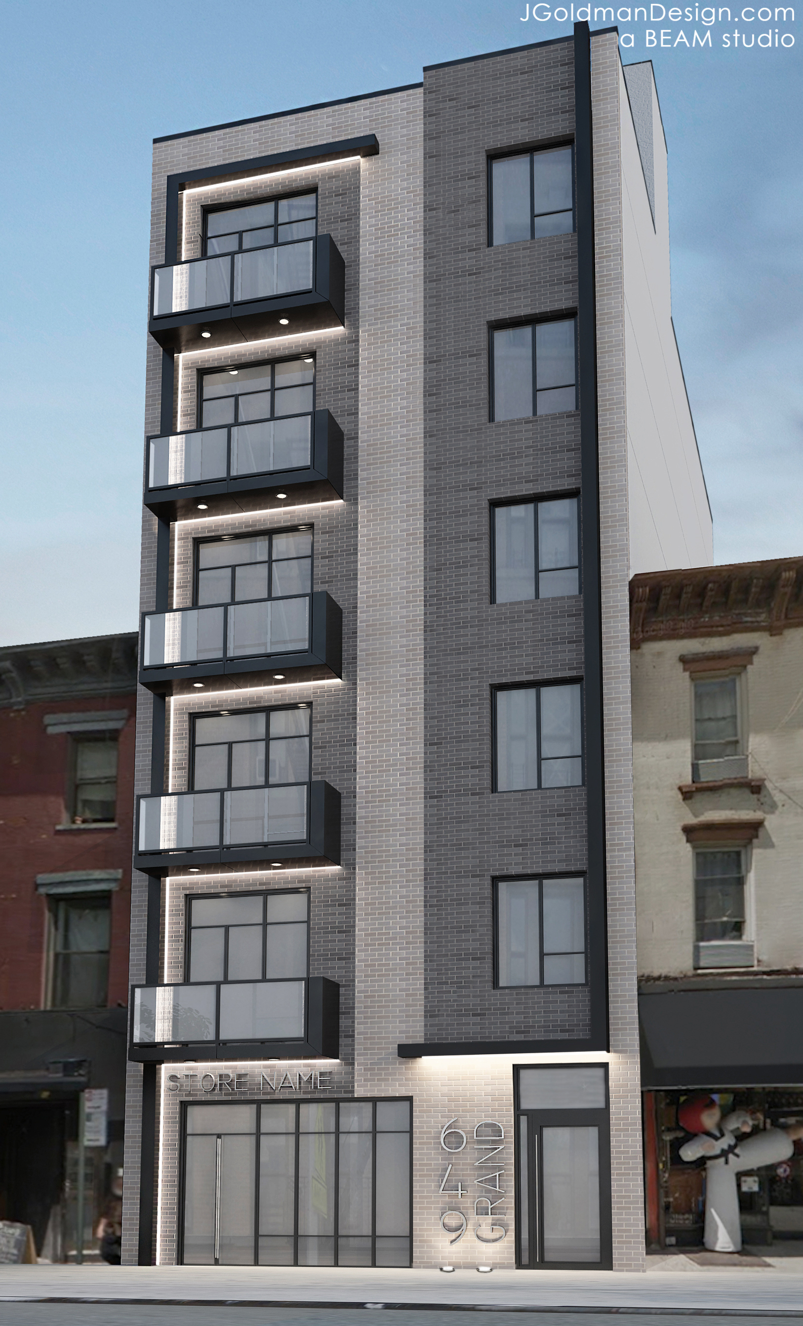 three new residential buildings slated for north brooklyn nabes