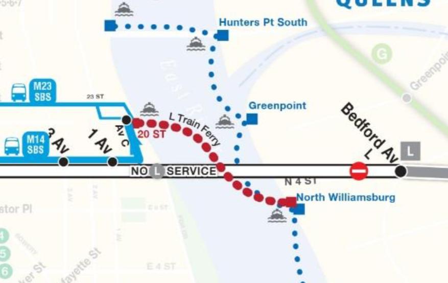Ferry Service Plans Revealed for L Train Shutdown - BKLYNER