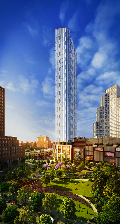 City Point's Luxury Condo Building Launches Sales Starting