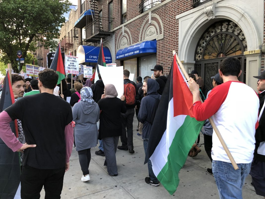 Brittanya 2020 Calendar Pro Palestine March Takes to the Streets in Bay Ridge   BKLYNER