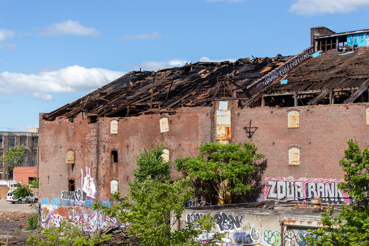 Briefly Noted: Demo On Bowne Building Continues, 'Under The K' Park, Wallaby Walk & More