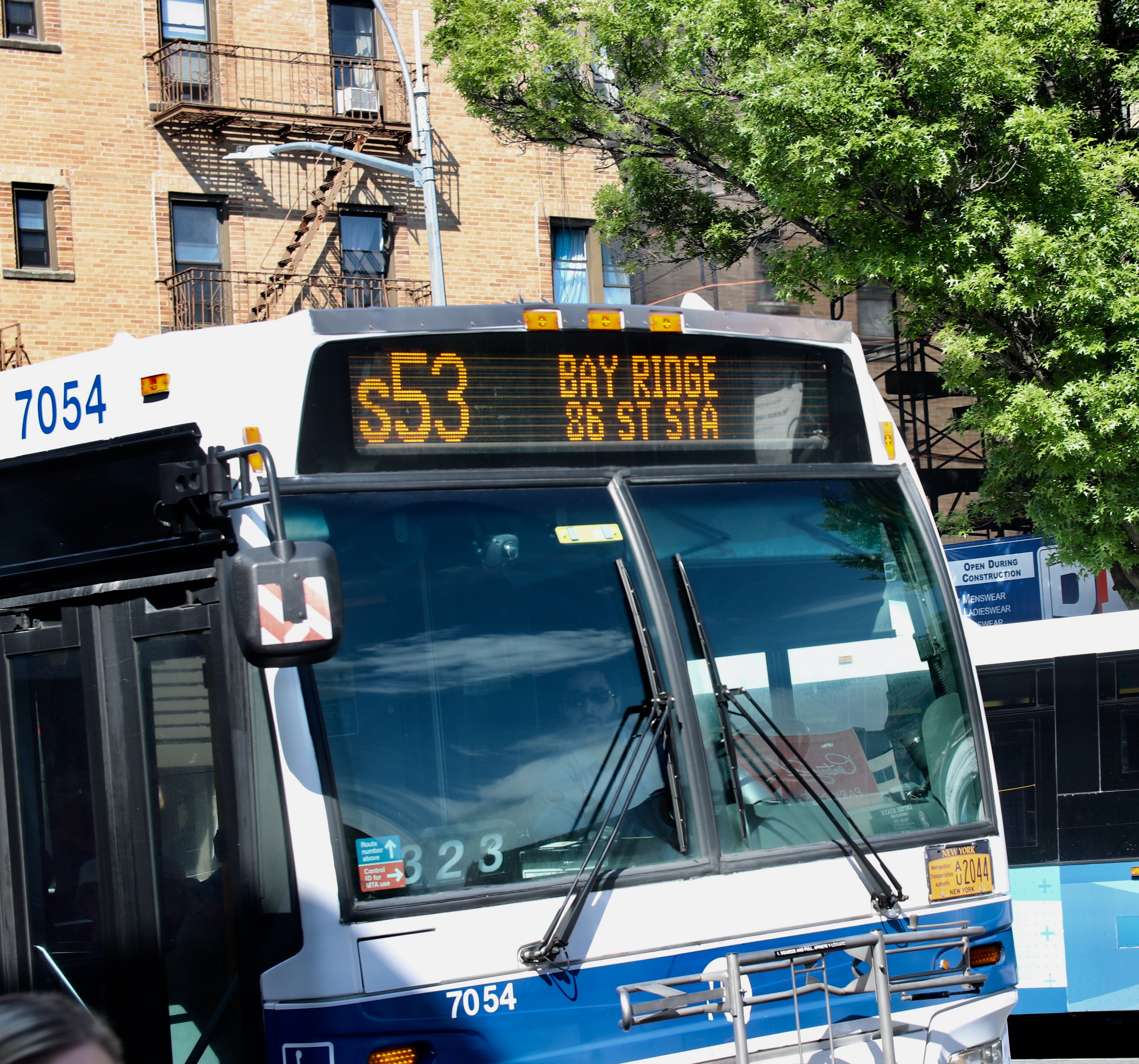 From Bay Ridge to Staten Island - Stop The Hate On Bus S53 - BKLYNER