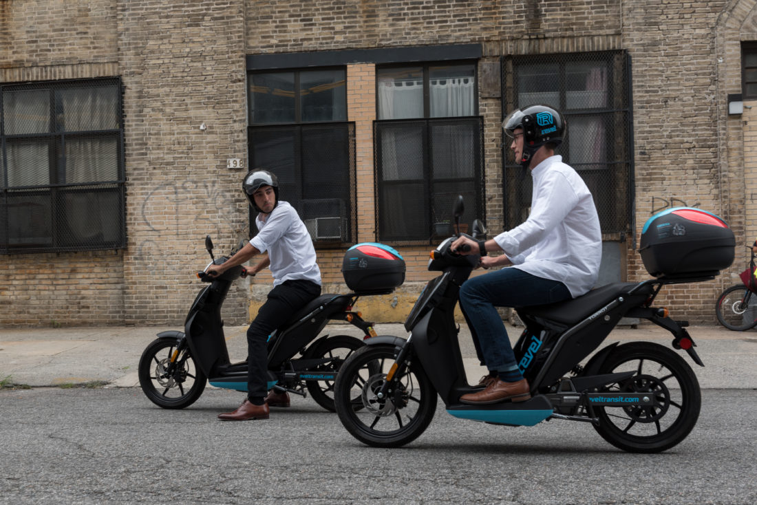 Revel Launches Dockless Scooter Share in North Brooklyn