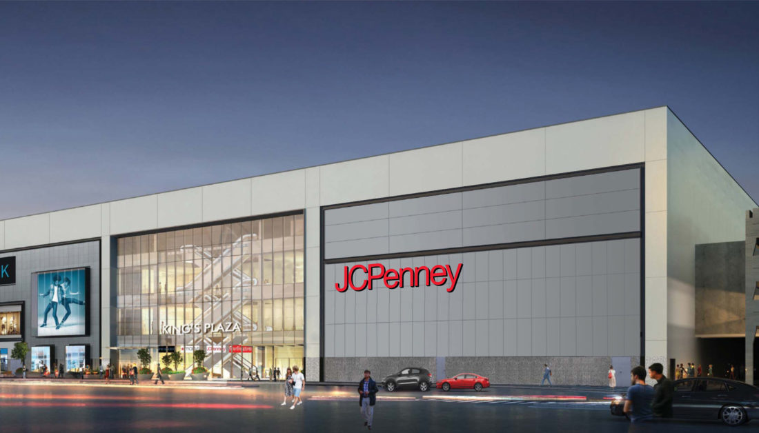 a50482f83 A rendering showing the prominent location of the coming JC Penny at Kings  Plaza (Via Kings Plaza Shopping Center)