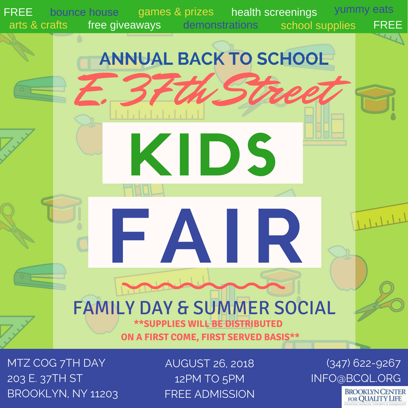 Free School Supplies Giveaway In Brooklyn