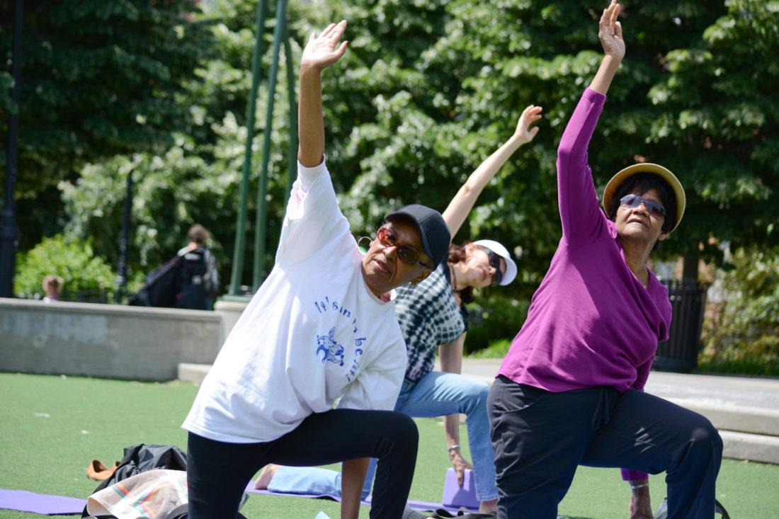 City Parks Foundation Announces Free Spring Fitness Programs For Seniors