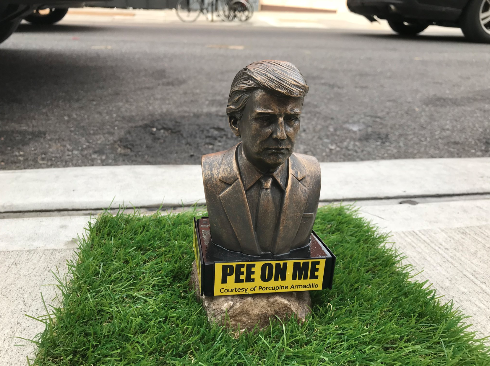 """Are Trump """"Pee On Me"""" Statues One Step Too Far?"""