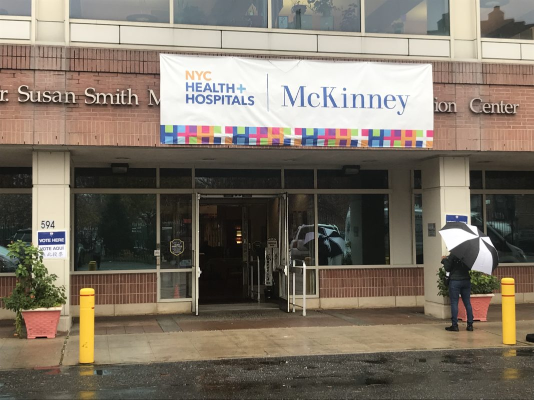 Susan McKinney Nursing and Rehabilitation Center, an East Flatbush polling site.