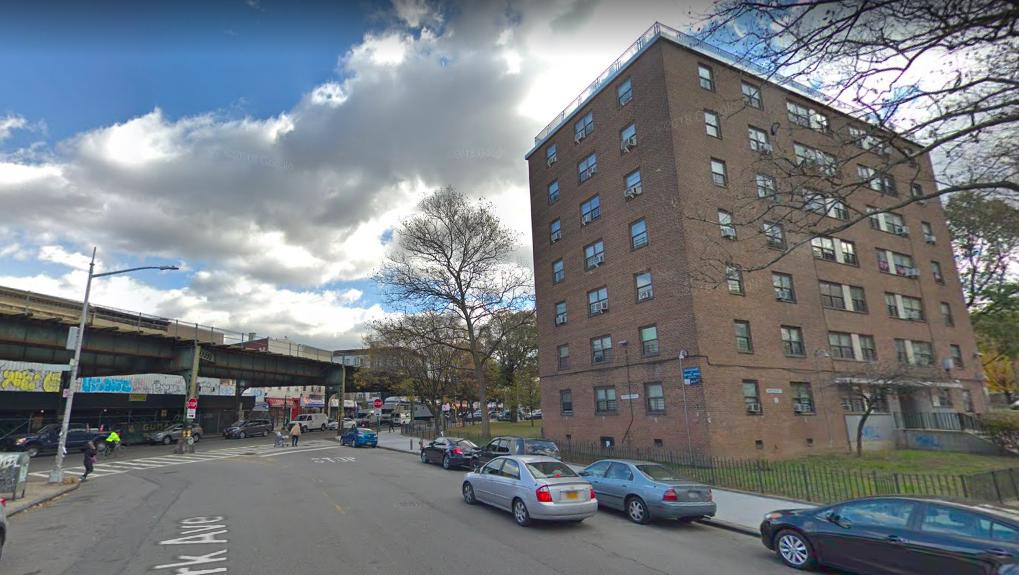 Outside 896 Park Avenue Where Theodore Smith Was Shot To Death Last Night Screenshot Via Google Maps
