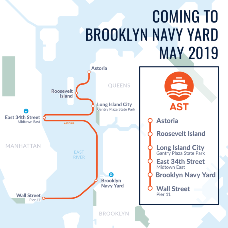NYC Ferry Will Debut Brooklyn Navy Yard Stop In May - BKLYNER